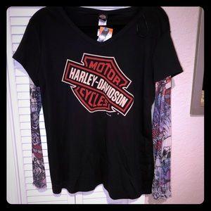 Harley Davidson Cozumel tattoo shirt 2XL NWT